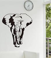 Интерьерная наклейка на стену Слон (XY1088)