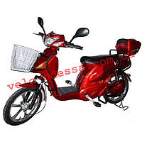 Электровелосипед мопед FLH 001  AZIMUT 350W-48V