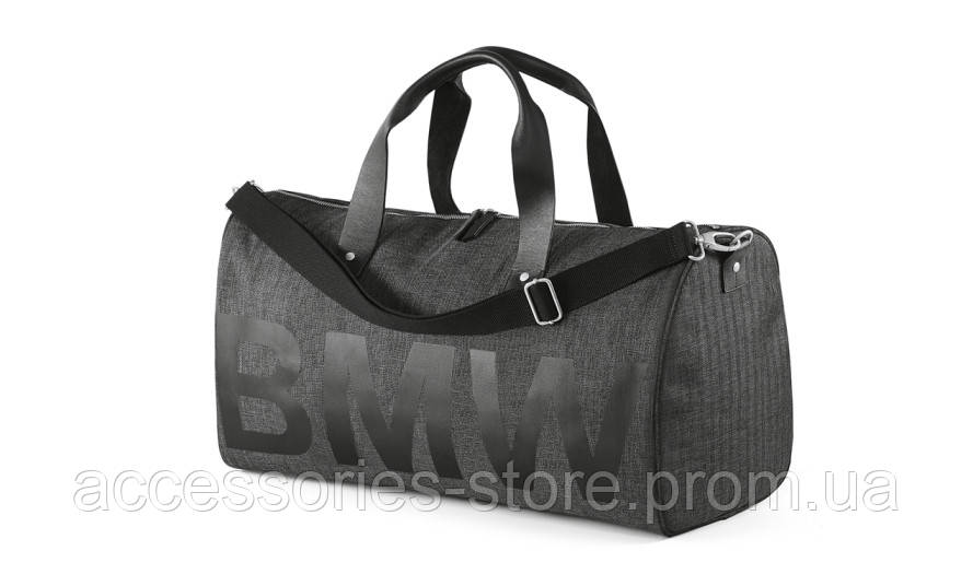 Сумка BMW Duffle Bag, Anthracite / Black