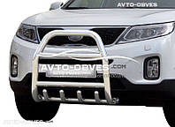 Защитная дуга переднего бампера Kia Sorento 2013-... (п.к. RR04)