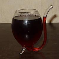 Бокал «Вампир»! Настоящий вампирский бокал с трубочкой!