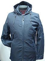 Куртка демисезонная NAOlilai удлиненная  мужская ,молодёжная
