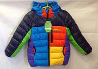 Яркая куртка для мальчика 4 - 6 лет