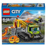 LEGO® City ГУСЕНИЧНАЯ МАШИНА ИССЛЕДОВАТЕЛЕЙ ВУЛКАНОВ 60122