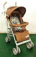 Прогулочная коляска-трость Baby TILLY Rider BT-SB-0002 BEIGE с дополнительными опциями