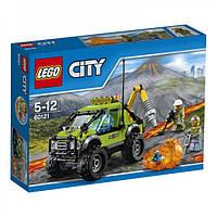 LEGO® City РАЗВЕДЫВАТЕЛЬНЫЙ ГРУЗОВИК ИССЛЕДОВАТЕЛЕЙ ВУЛКАНОВ 60121