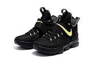 Баскетбольные кроссовки Nike Lebron 14 black-gold