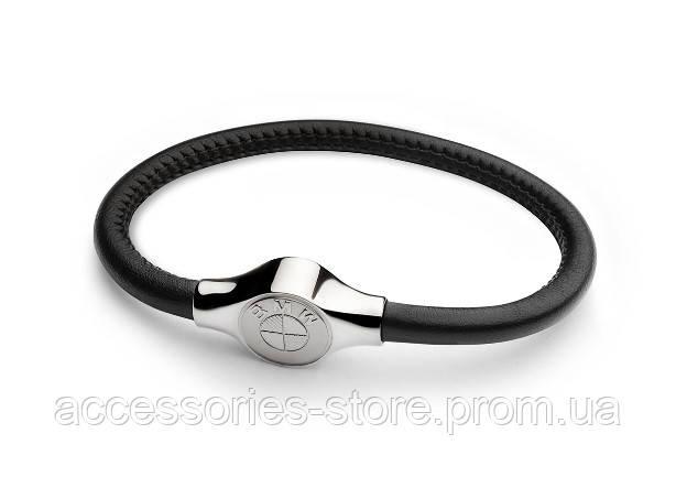 Кожаный браслет унисекс BMW Leather Bracelet, Unisex