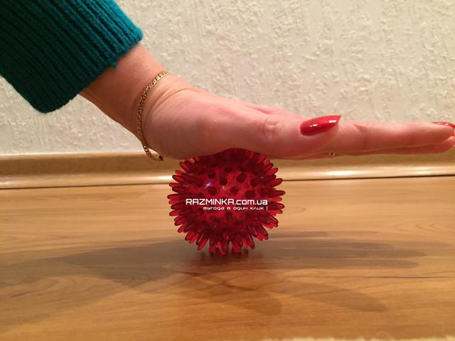 Массажер медицинский для тела ЧУДО-МЯЧИК пластиковый, массажеры, массажный шарик с шипами, массажные шарики для детей, массажный шарик для детей, массажные шарики для рук