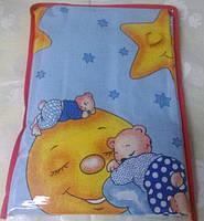 Комплект детского постельного белья для младенцев 110х140 см хлопок TM KRISPOL