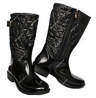 Жіночі укорочені гумові чоботи (БР-12 ч)