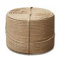 Верёвка джутовая  д.8мм