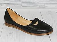 Балетки. Открытые туфли. Натуральная кожа 0765, фото 1