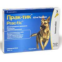 Прак-тик каплі для собак великих розмірів 22 -50 кг.(3 піпетки) (пирипрол)