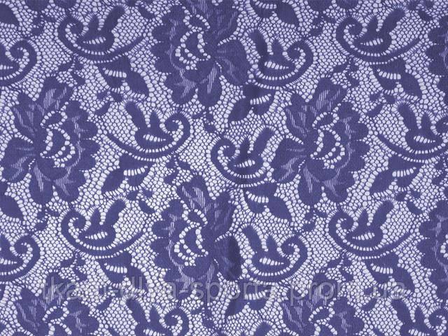 Стрейч-гипюр CHRISANNE (Англия) лавандовый (flower ultra violet)
