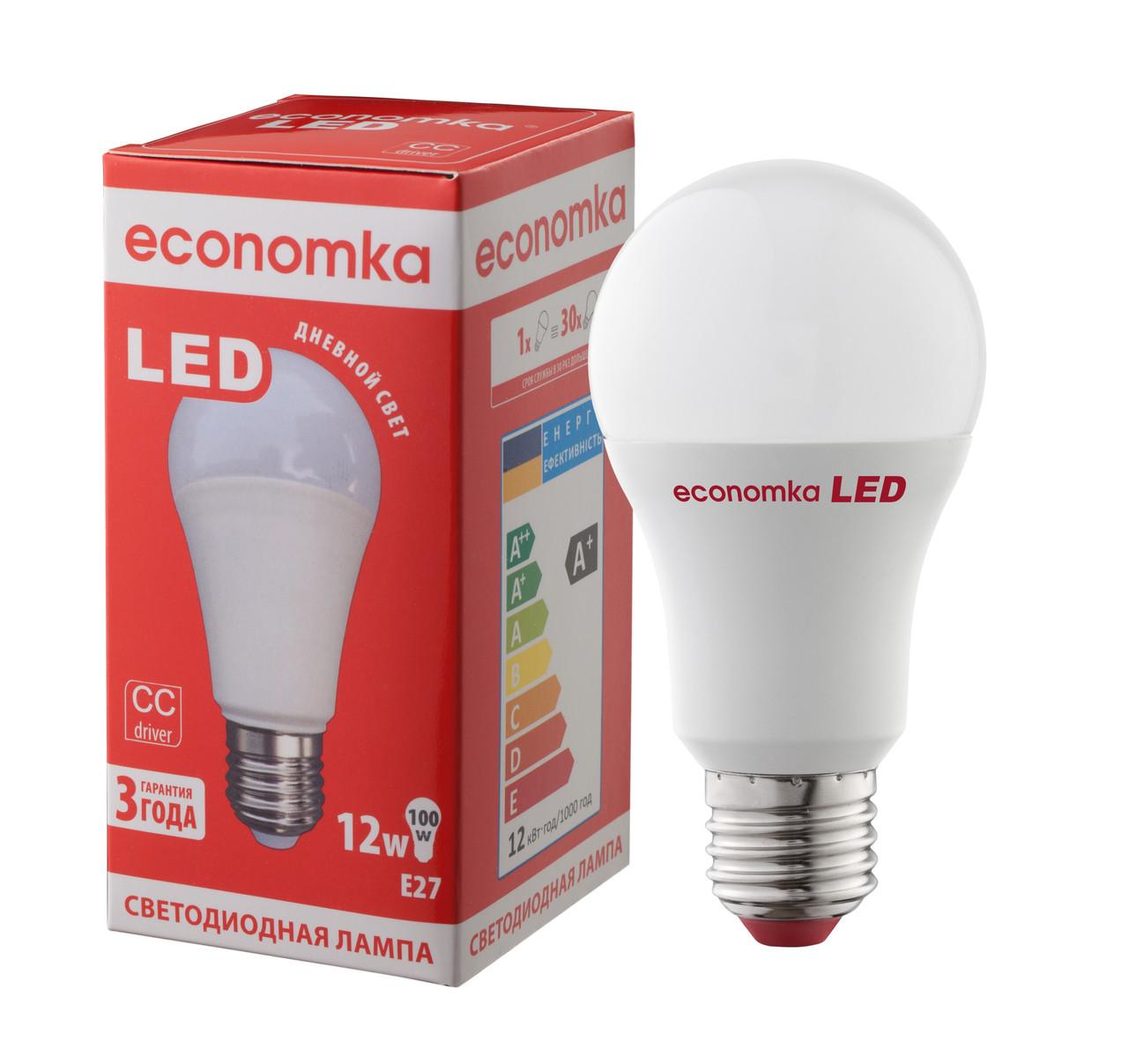 Светодиодная лампа Economka LED 12W Е27-4200К