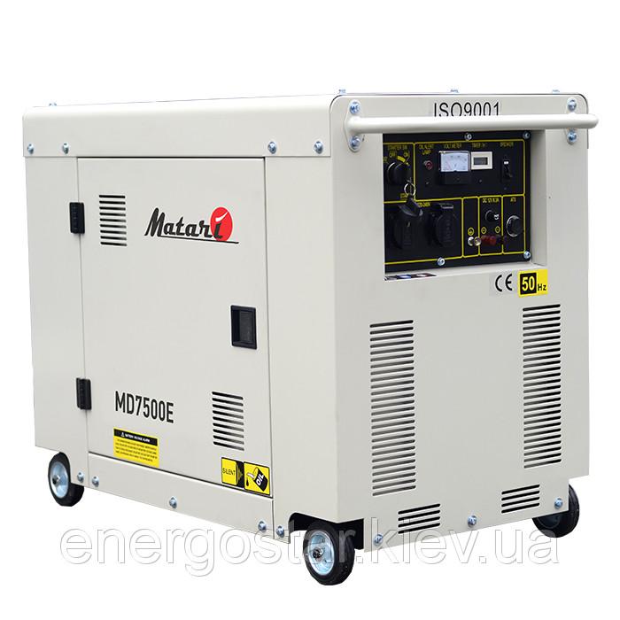 Однофазный дизельный генератор MATARI MDA7500E (5 кВт)