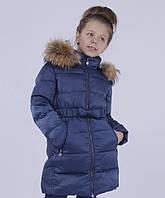 Пальто Snow Image зимнее, для девочки, утеплитель - пух и перо 140-164