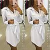 Платье - рубашка с поямом, фото 6