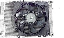 Дифузор вентилятора радіатора Рено Кліо 3 1.5 Dci в зборі з вентилятором і мотором б/у
