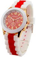 Часы наручные женские GENEVA sport Красные