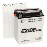 EXIDE 12N12A-4A-1 Мото аккумулятор 12 А/ч, 115 А, (+/-), 134х80х160 мм