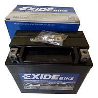 EXIDE SLA12-12 / AGM12-12 Мото аккумулятор 12 А/ч, 200А, (+/-), 150x87x145 мм