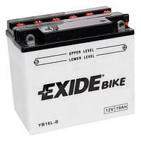 EXIDE YB16L-B Мото аккумулятор 19 А/ч, 240 А, 175х100х155 мм