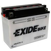 EXIDE Y50-N18L-A Мото аккумулятор 20 А/ч, 260 А, (-/+), 205х90х162 мм