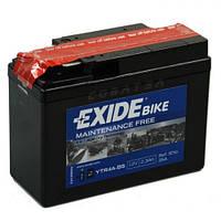 EXIDE YTR4A-BS Мото аккумулятор 2,3 А/ч, 30 А, 113х48х85 мм