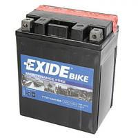 EXIDE YTX14AH-BS Мото аккумулятор 12 А/ч, 135 А, (+/-), 134х89х166 мм