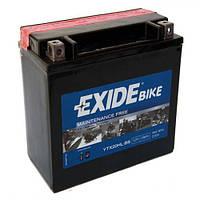 EXIDE YTX20HL-BS Мото аккумулятор 18 А/ч, 270 А, 175х87х155 мм
