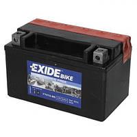 EXIDE YTX7A-BS Мото аккумулятор 6 А/ч, 90 А, (+/-), 150х87х93 мм