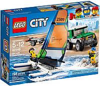 LEGO® City ВНЕДОРОЖНИК С ПРИЦЕПОМ ДЛЯ КАТАМАРАНА 60149