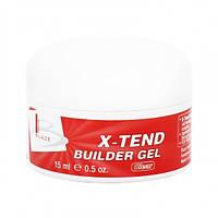 УФ гель конструирующий средний, BLAZE X-Tend Builder Gel Clear, 15 мл