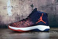 Баскетбольные кроссовки Nike Jordan Ultra.Fly blue-orange
