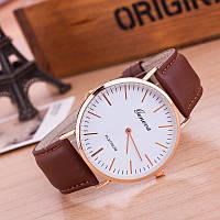 Мужские наручные часы Geneva Platinum коричневые