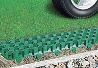Газонная решетка зеленая. Экопарковка
