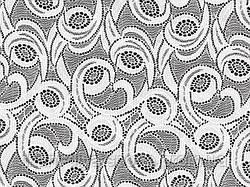 Стрейч-гипюр CHRISANNE (Англия) белый (galactic white)