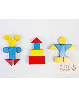 Блоки Дьенеша «Цветные плашки»