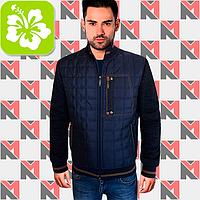 Стеганая куртка - 239 синий