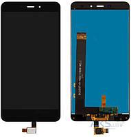 Дисплей (экран) для телефона Xiaomi Redmi Note 4 + Touchscreen Original Black