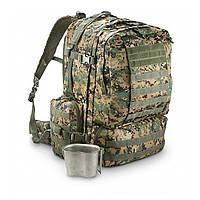 Тактический рюкзак Red Rock Diplomat 52 л (Woodland Digital), фото 1
