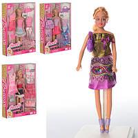 Игровой набор кукла с нарядами 60815HWT/60815HW-4