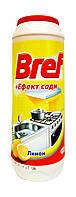 Порошок для чистки Bref + Эффект соды Лимон для кухни - 500 г.