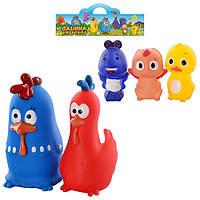 Набор игрушек-пищалок для купания «Животные» P69-14