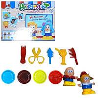 Детский набор пластилина «Парикмахер» MK 0997