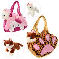Детская сумочка с мягкой игрушкой D21754-55