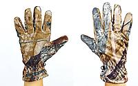 Перчатки спорт теплые флисовые Realtree