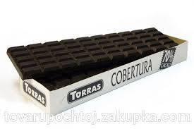 Шоколад черный Cobertura Torras 70% какаоИспания 900г, фото 2